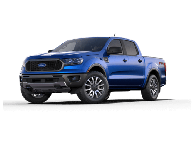 2019 Ford Ranger EBONY PREMIUM CLOTH Truck SuperCrew 4WD